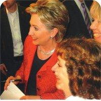 Me - Helping Hillary so women might might get their ERA and all Americans could have Health Care