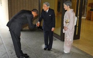 bowing japan