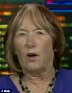 Criticism: Pat Smith, whose diplomat son Sean,died in the raid, slammed the President's remarks on Comedy Central regarding her son's death.